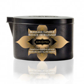 KamaSutra Ignite Massage Oil Candle Tahitian Sandalwood 170g