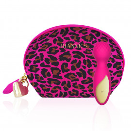 Rianne S Essentials Lovely Leopard Mini Wand Pink