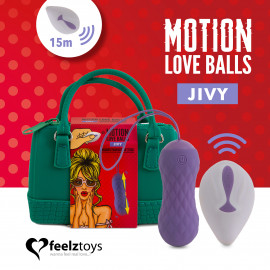FeelzToys Remote Controlled Motion Love Balls Jivy