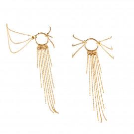 Bijoux Indiscrets Magnifique Feet Chain 0272 Zlatá
