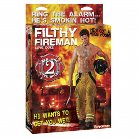 Pipedream Filthy Fireman Love Doll
