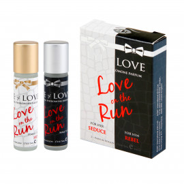 Eye of Love Pheromone Body Mini Rollon Set for Men-Rebel and Women-Seduce 2x5ml