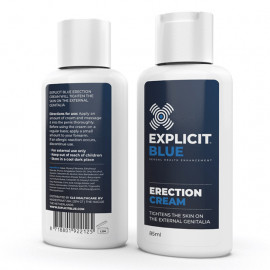Explicit Blue Erection Cream 85ml