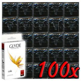 Glyde Cola - Premium Vegan Condoms 100 pack