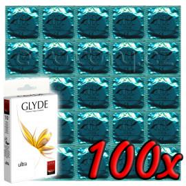 Glyde Ultra - Premium Vegan Condoms 100 pack