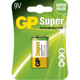 Baterie alkalická GP Ultra 9V 1ks