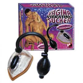 You2Toys Vibrating Vagina Sucker - Vibrační vakuová pumpa
