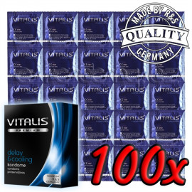 Vitalis Premium Delay & Cooling 100ks