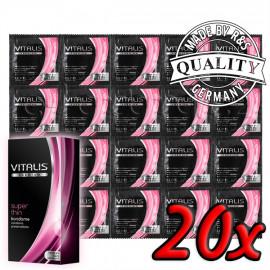 Vitalis Premium Super Thin 20ks