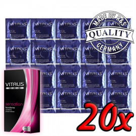Vitalis Premium Sensation 20ks