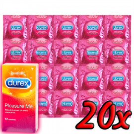 Durex Pleasure Me 20ks