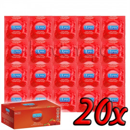 Durex Strawberry 20ks