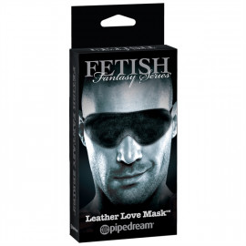 Fetish Fantasy Limited Edition Leather Love Mask - Kožená maska na oči