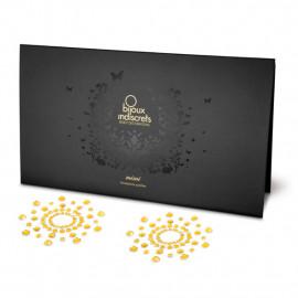 Bijoux Indiscrets Mimi Gold - ozdoby na bradavky