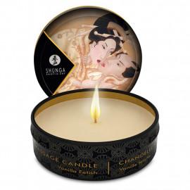 Shunga Libido Massage Candle Vanilla Fetish - masážní svíčka 30ml