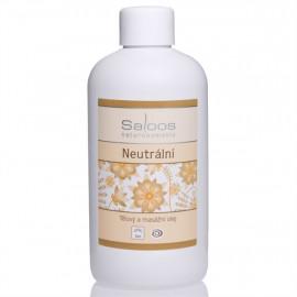 Saloos Neutrální - Bio tělový a masážní olej 1000ml