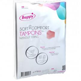 Beppy Soft+Comfort Tampons DRY - pěnové tampóny bez šňůrky 30ks