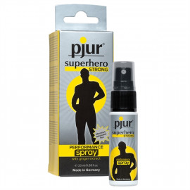 Pjur superhero STRONG Performance Spray 20ml