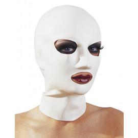LateX Latex Mask - Latexová maska na obličej Bílá