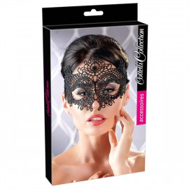 Cottelli Embroidered Mask - Maska na oči 2480298