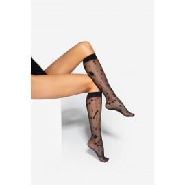 Gatta Trendy 01 Knee Socks Nero