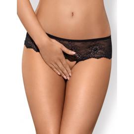 Obsessive Merossa Crotchless Panties Black