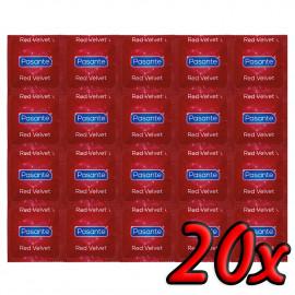 Pasante Red Velvet 20 pack