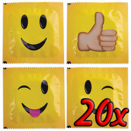 Pasante Smiley Face 20 pack
