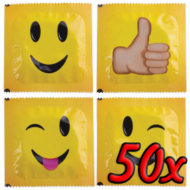Pasante Smiley Face 50 pack