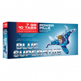 Pharmquests Blue Superstar 10tbl