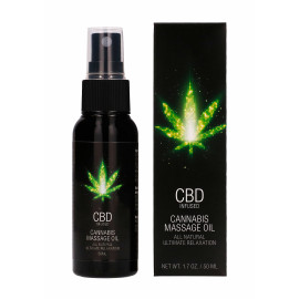 Pharmquests CBD Cannabis Massage Oil 50ml