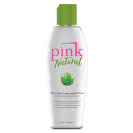 Pink Natural Water-Based Lubricant for Women 140ml