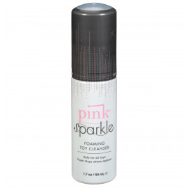 Pink Sparkle Foaming Toy Cleanser 50ml
