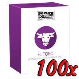 Secura El Toro 100 pack
