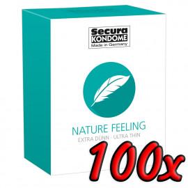 Secura Nature Feeling 100 pack
