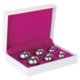 Shots Toys Ben Wa Balls Set Silver