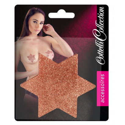 Cottelli Cottelli Titty Sticker Star Big Copper