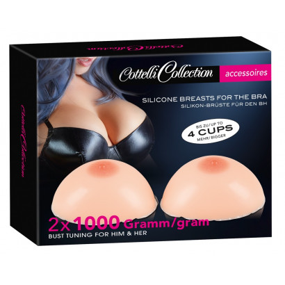 Cottelli Silicone Breasts 2x1000g
