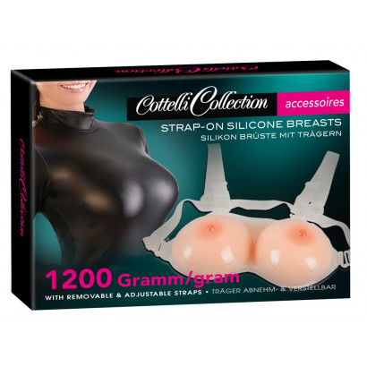 Cottelli Strap-on Silicone Breasts
