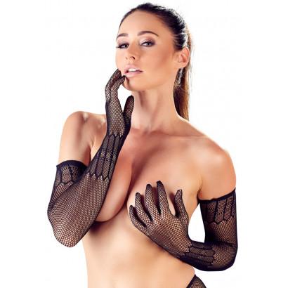 Cottelli Net Gloves 2460742 S-L
