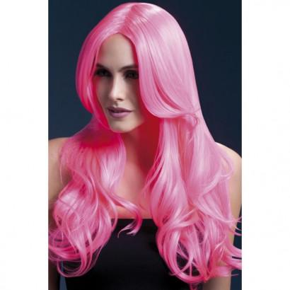 Fever Khloe Wig 42545 - Paruka Neonovo-růžová