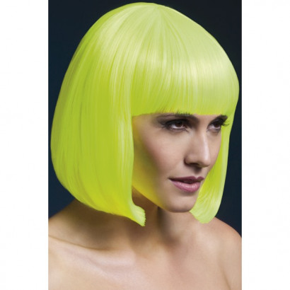 Fever Elise Wig 42572 - Paruka Neonovo-žlutá