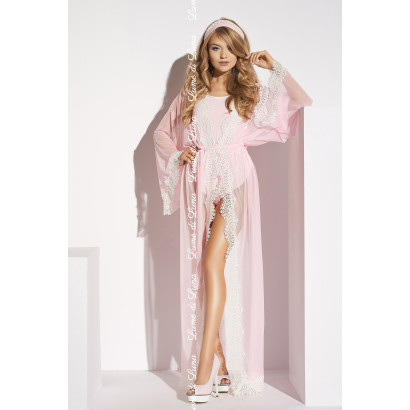 Me Seduce Ardea Long Robe Pink