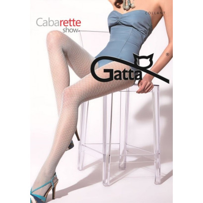 Gatta Cabarette Show 03 - Punčochové kalhoty Sabbia 3