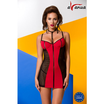 Avanua Coline Chemise Red