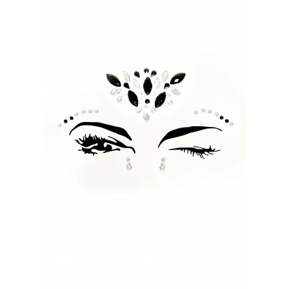 Leg Avenue Avalon Face Jewels Sticker EYE002