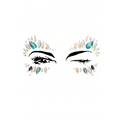 Leg Avenue Calypso Face Jewels Sticker EYE003