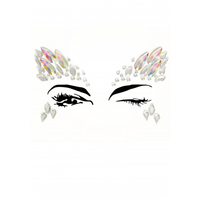 Leg Avenue Aria Face Jewels Sticker EYE004