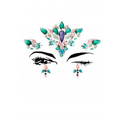 Leg Avenue Ariel Face Jewels Sticker EYE007