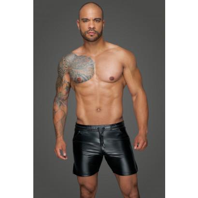 Noir Handmade H061 Powerwetlook Shorts in Comfortable Length
